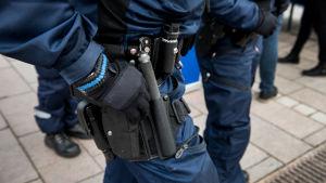 Poliisi varusteet