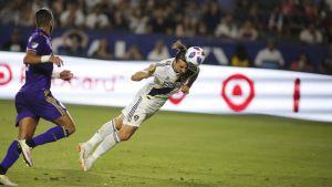 Zlatan Ibrahimovic nickar bollen