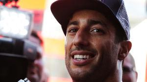 Daniel Ricciardo har kört för Red Bull sedan säsongen 2014.