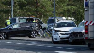 Bussolyckan i Kuopio.