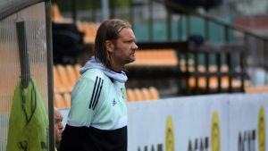 Max Peltonen tränar Vasa IFK.