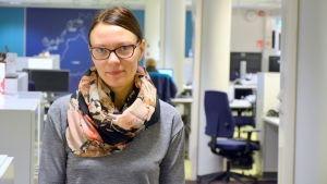 Camilla Enell-Öst,  Vasa stads avfallshanteringschef