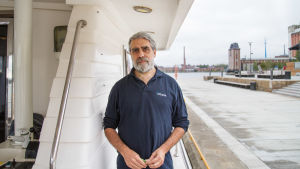 Senior director Ricardo Aguilar ombord på Oceana