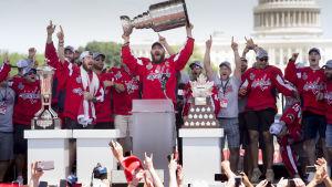 Washington Capitals firade Stanley Cup-triumfen i somras.