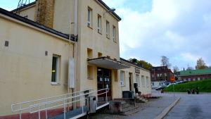 Busstationen i Lovisa.
