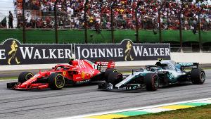 Kimi Räikkönen, Valtteri Bottas.