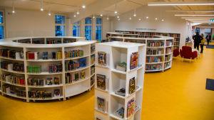 Barn- och ungdomsavdelningen i Sibbohuvudbibliotek