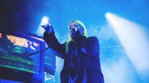 Alma esiintyi marraskuussa 2018 Helsingin Circuksessa.