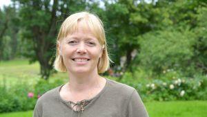 Elisabet Lundström, värdinna på Norrkulla gård.