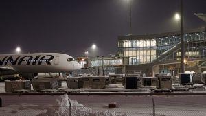 Helsingfors-Vanda flygplats.