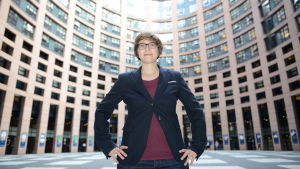 EU-parlamentarikern Julia Reda
