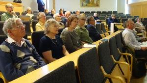 publik i auditorium