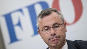 Norbert Hofer som nu leder FPÖ.