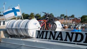 M/S Minandra i Hangös östra hamn