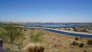 Avaruuskeskuksen näköalapaikka Mojavessa.