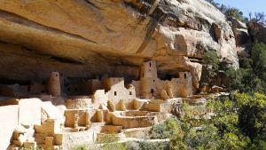 En av klippbyarna i Mesa Verde.