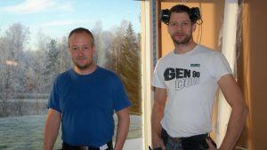 Tomas Lund och Daniel Lindvall