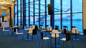 Havainnekuva Kittilän lentoaseman uusista tiloista