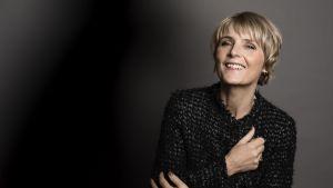 Den danska författaren Hanne-Vibeke Holst.