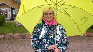 Lapinjärven kunnanjohtaja Tiina Heikka.