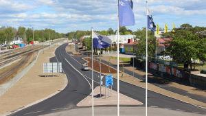 Korsmansgatan i Hangö.