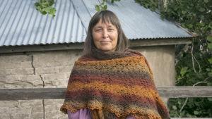Porträttbild på Nina Sjöberg.
