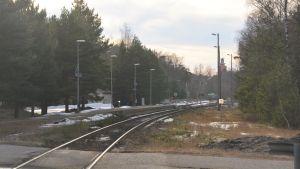 Plankorsning över järnväg