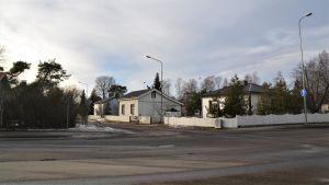 Korsning i Hangö norra