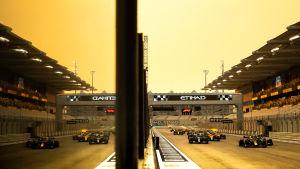 Formel 1-start.
