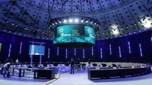 Bild av konferenssalen.