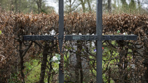 Gravkors vid Sophie Scolls grav.