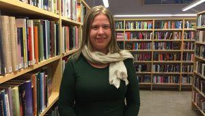 Marina Sandström, bibliotekschef, Vörå