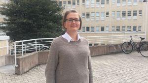 Direktör Tarja Wiikinkoski vid Regionförvaltningsverket vid västra och inre Finland.