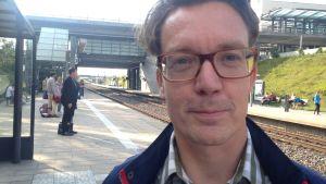 Per Marklund pendlar mellan Malmö och Köpenhamn.