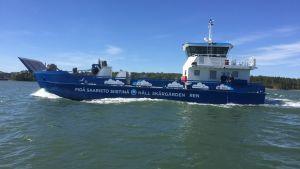Håll Skärgården Rens servicefartyg M/S Roope