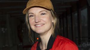 Regissören Gabriela Pichler.