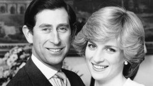 Prins Charles och prinsessan Diana 1980