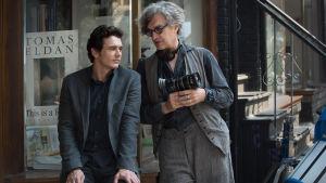 Skådespelaren James Franco och regissören Wim Wenders