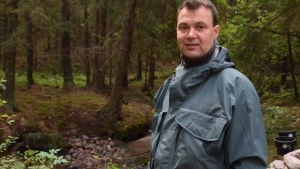 Harri Aulaskari, specialplanerare på NTM-centralen i Nyland.