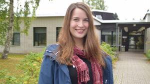 Ann-Katrin Bender är ordförande för styrelsen för VNF i Karis.