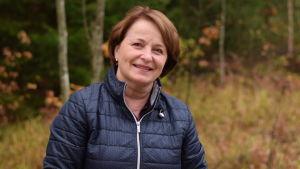 Raija Rehnberg är vd för Meatgard som bygger slakteri i Västankvarn i Ingå.