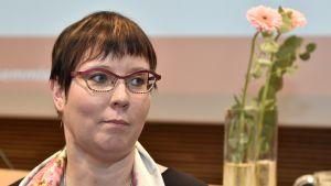 Västerförbundet utsåg Europaparlamentarikern Merja Kyllönen till partiets presidentkandidat i mars 2017.