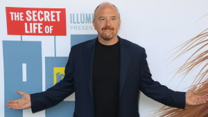 "Louis C.K. deltar i premiärvisningen av filmen ""The Secret Life of Pets"" sommaren 2016 i New York."