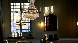 Lilla kyrkan i Borgå öppen för andakt 13.11.17 efter knivdåd