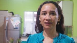 Leslie Briceño hör till initiativtagarna till att rätten till terapeutisk abort ska återinföras i Nicaragua.