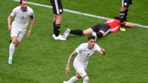 Jose Gimenez firar mål i VM