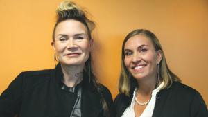 Jenni Ahtiainen ja Sanna Kaijanen