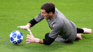 Iker Casillas står i mål för FC Porto.