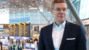 Finavias tekniska direktör Henri Hansson.