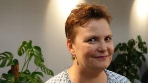 Helsingfors stads kommunikationsdirektör Liisa Kivelä